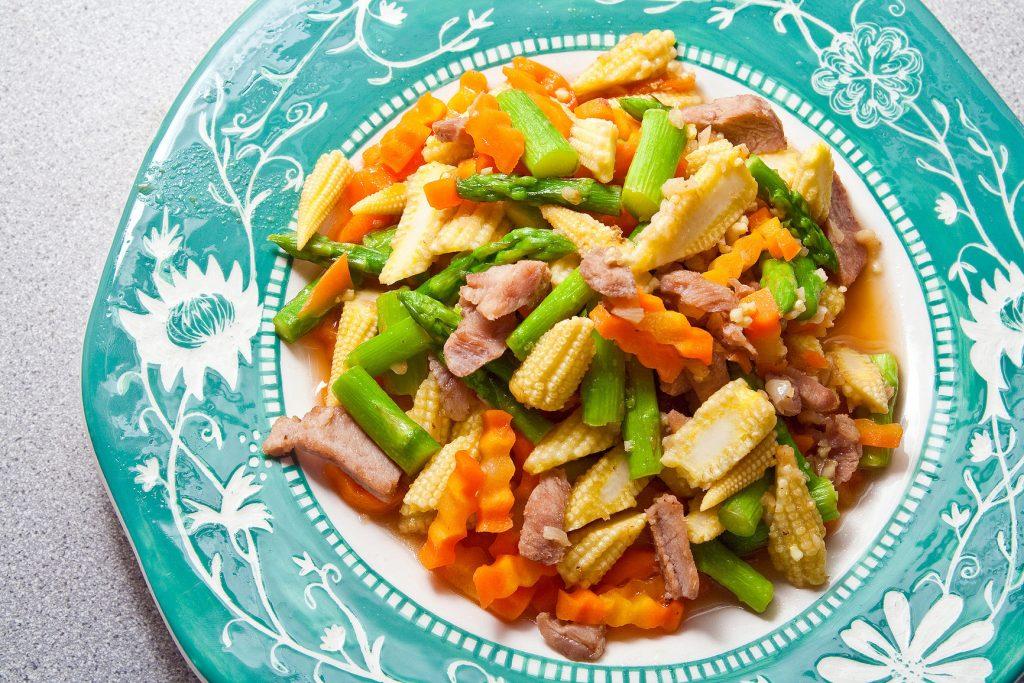 Island Pork Tenderloin Salad